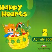 ksiazka tytuł: Happy Hearts 2 Activity Book autor: Dooley Jenny, Evans Virginia
