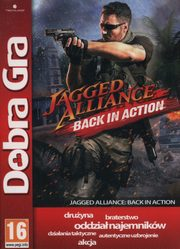 ksiazka tytuł: Dobra Gra Jagged Alliance Black in Action autor: