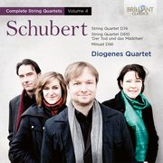 Schubert: String Quartets Vol.4    STRING QUARTETS VOL.4,