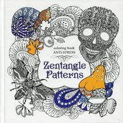 Kolorowanka antystresowa Zentangle Patterns,
