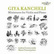 MINIATURES FOR VIOLIN & PIANO, KANCHELI G.