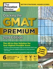 Cracking the GMAT Premium Edition with 6 Computer, Princeton Review