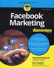Facebook Marketing For Dummies,