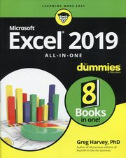 Excel 2019 All-in-One For Dummies,