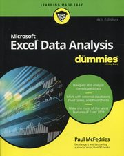 Excel Data Analysis For Dummies,